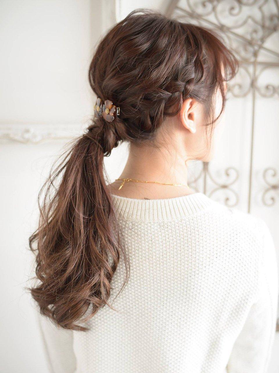 【keep hair design.松下】編み込み簡単アレンジ☆