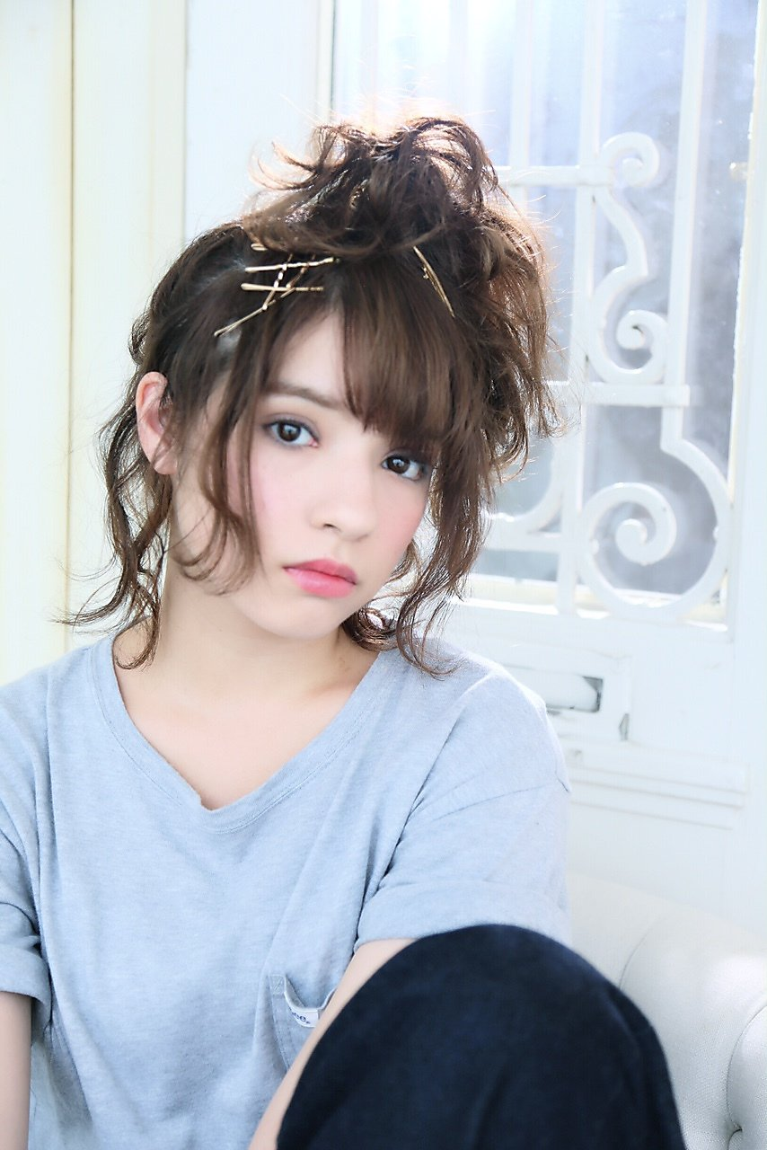 Bella菅野☆褒められ髪☆ルーズなアップスタイル