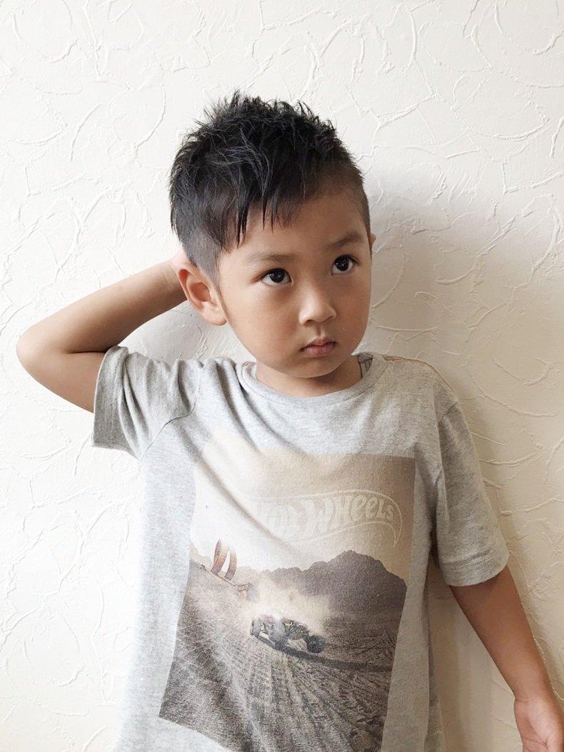小学生 髪型