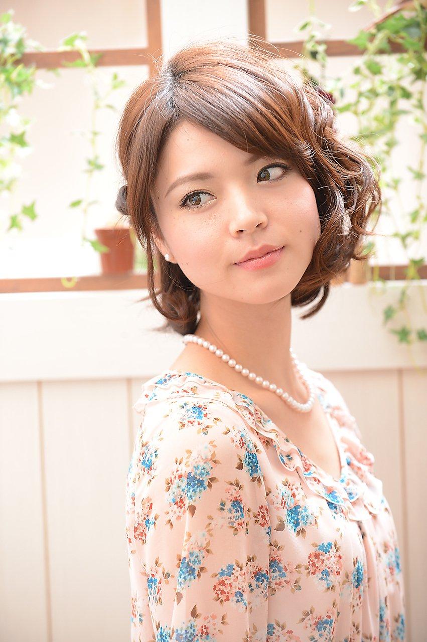 【miel hair blanc】☆アシメアレンジ☆