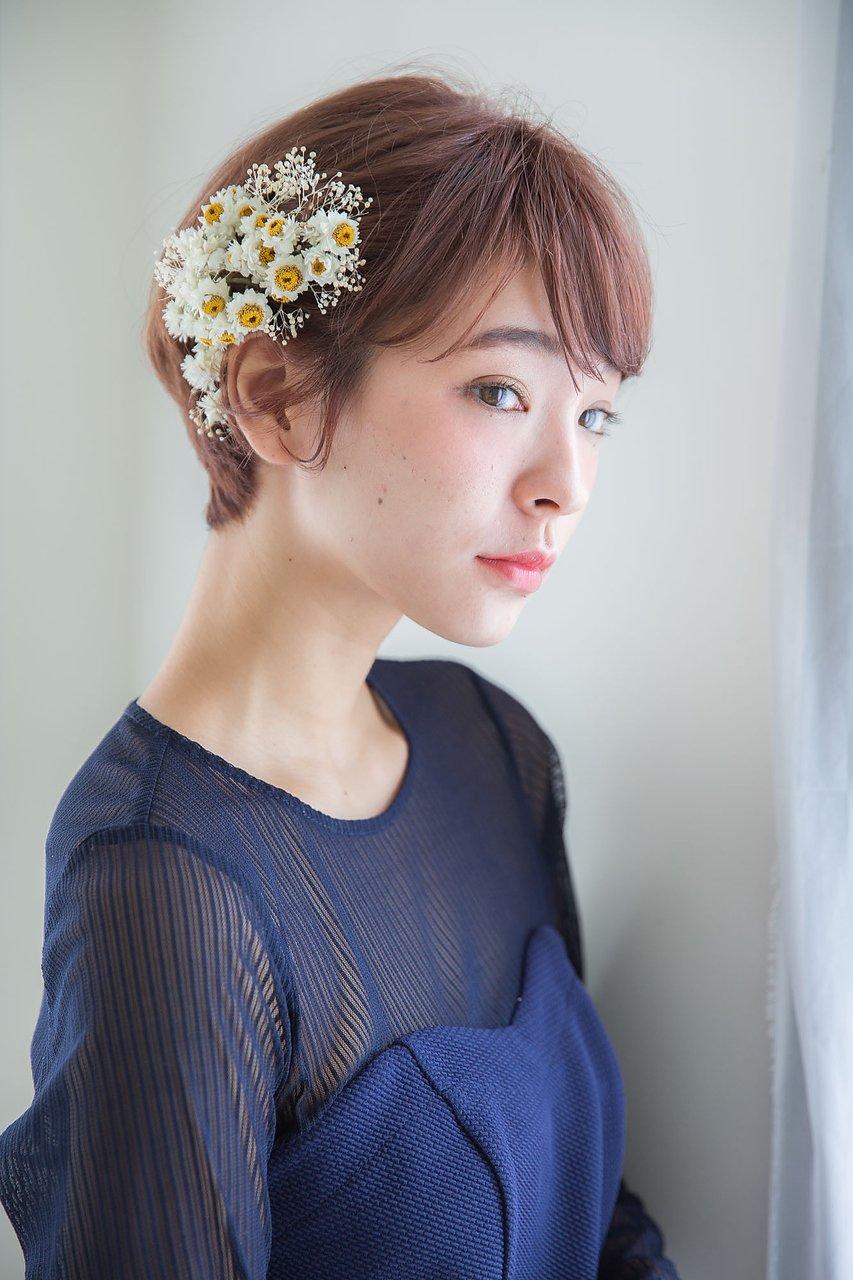 【aRietta】ノーブルショート・モテアレンジ♪バレイヤージュ