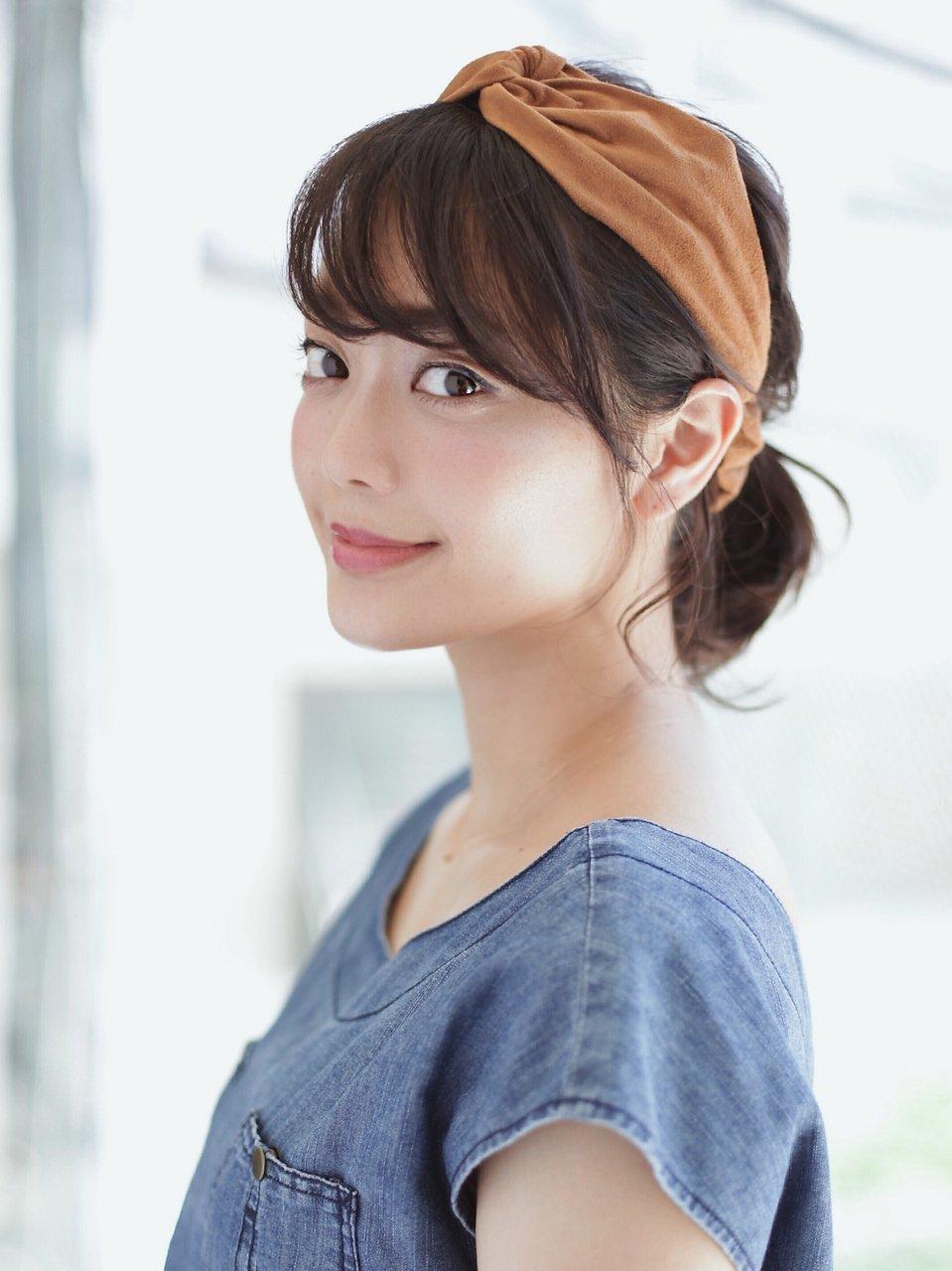HOULe【大西絢子】2016 リラクシー小顔ボブ×ターバンアレンジ