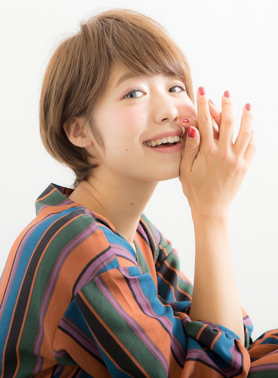 【Euphoria 林  将悟】大人カワイイ☆ショート!イルミナカラー