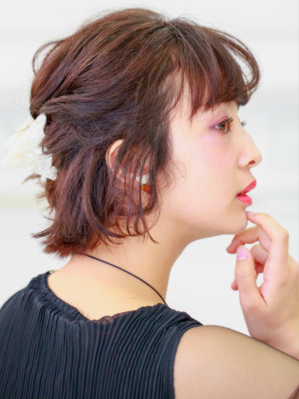 ヴィンテージ☆大人女性ボブアレンジ