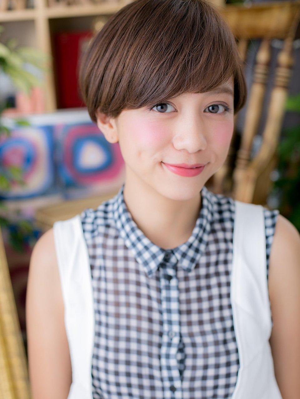 ■bliss戸田公園13-14★■大人かわいいシンプル小顔マッシュボブ
