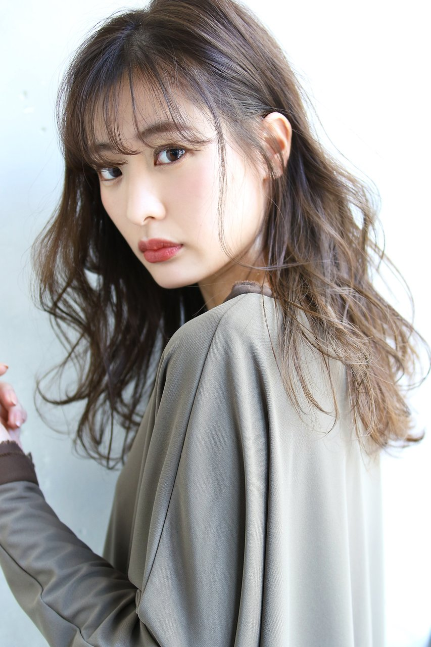 【ROSE/梅田】イルミナカラー/ラフウェーブ/セミロング