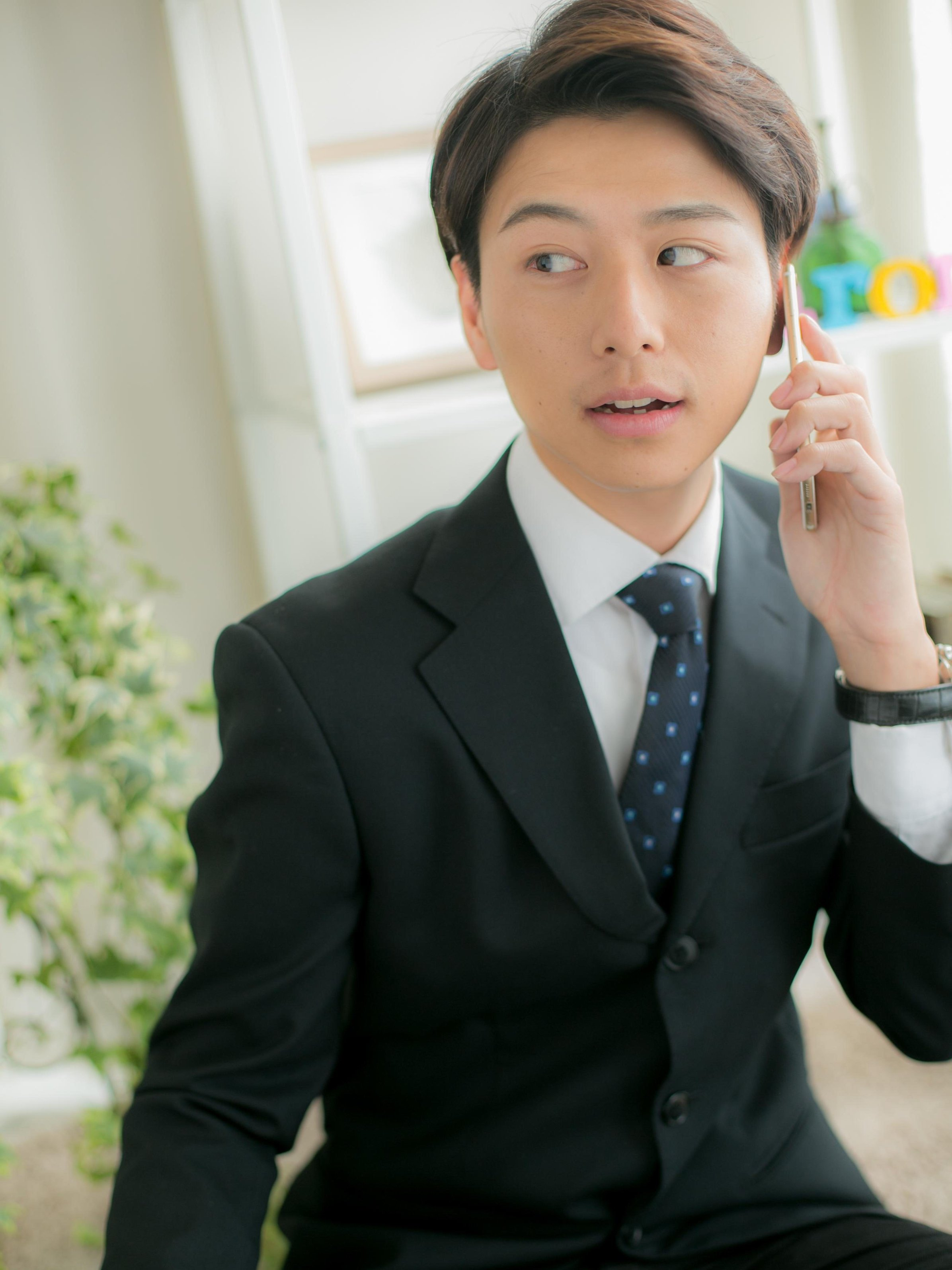 【macaron】好感度☆バツグン!スーツ男子へ贈る7:3スタイル