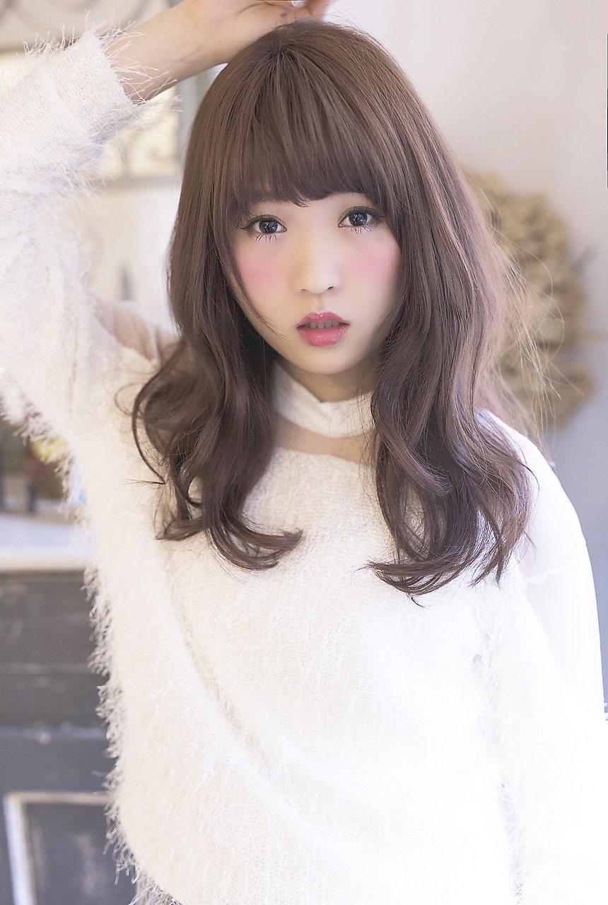 メルティカラー春色暗髪フレンチシックセミロングfizelle谷澤亮