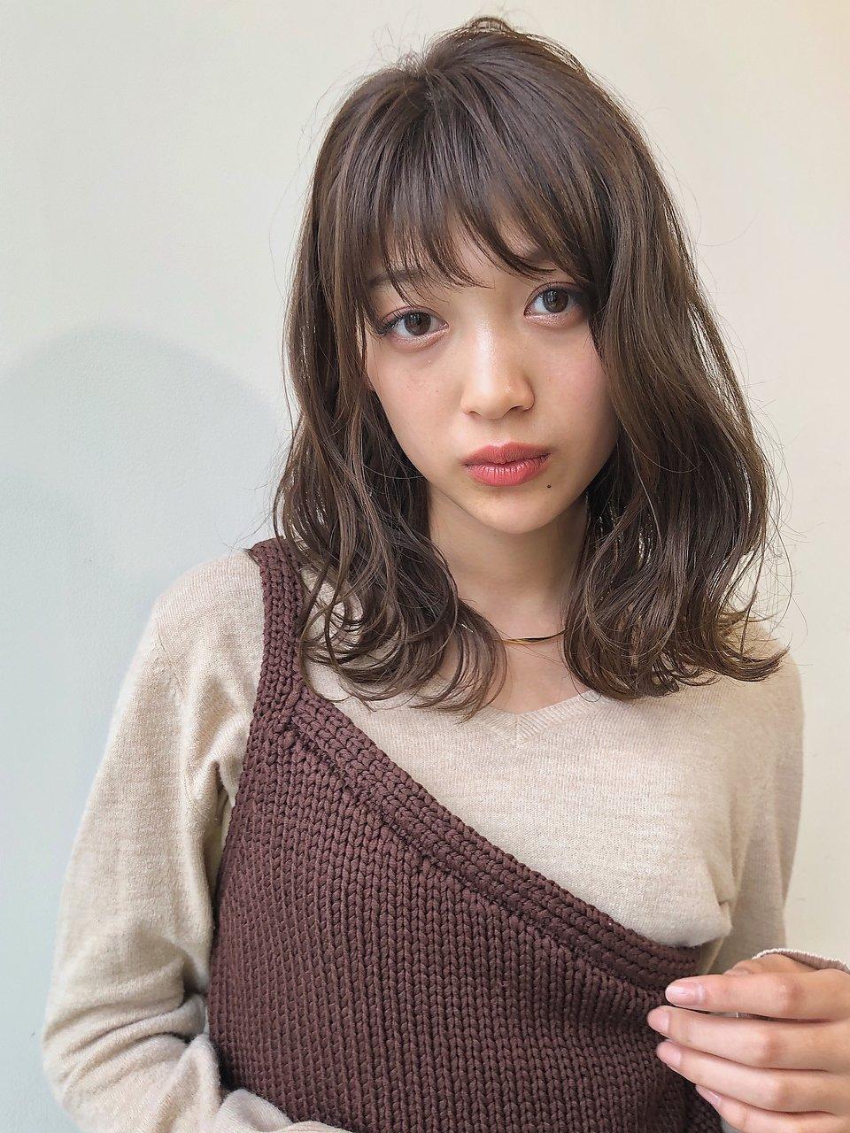 【GARDEN 田中麻由】オトナ可愛いゆるふわミディ