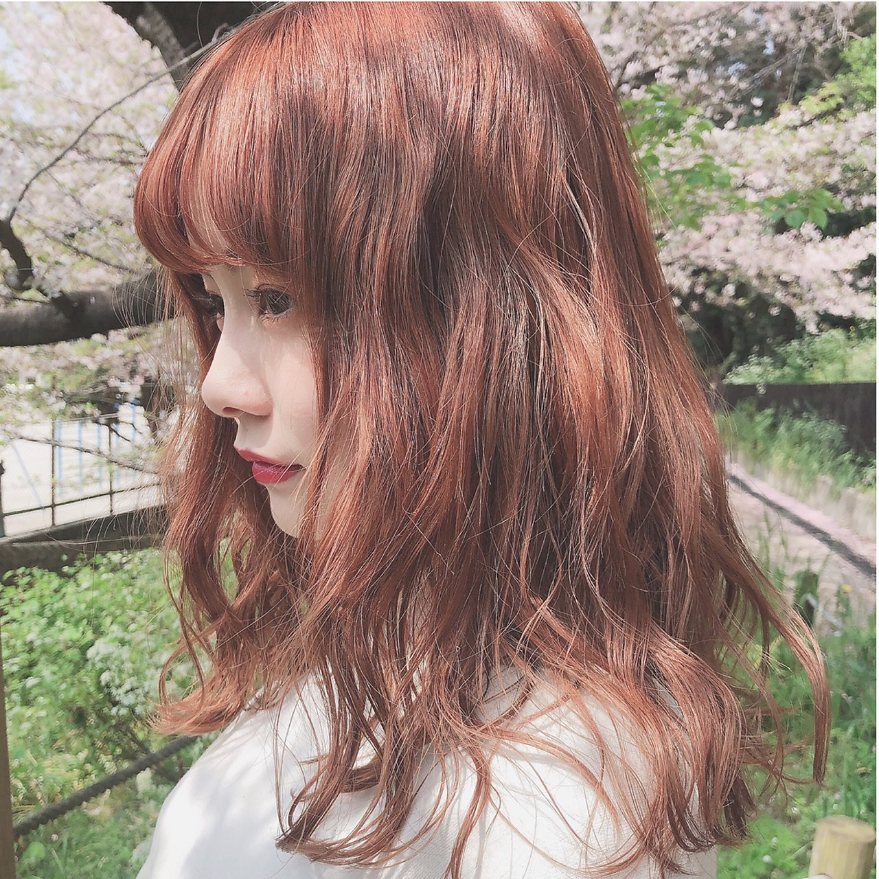 *春カラー×オレンジベージュ*