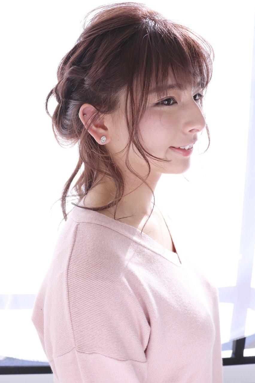【ミレス】石田 海◆柔らかハーフアップ