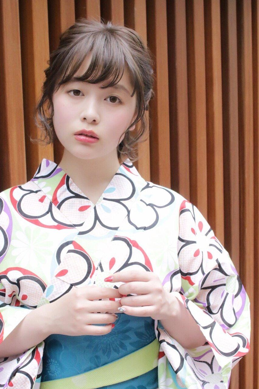 ☆ShellBear 銀座店☆浴衣アレンジ♪/西谷