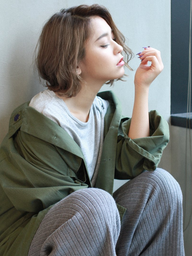 【 LIV OSAKA 】外国人風☆ラフウェーブボブ♪