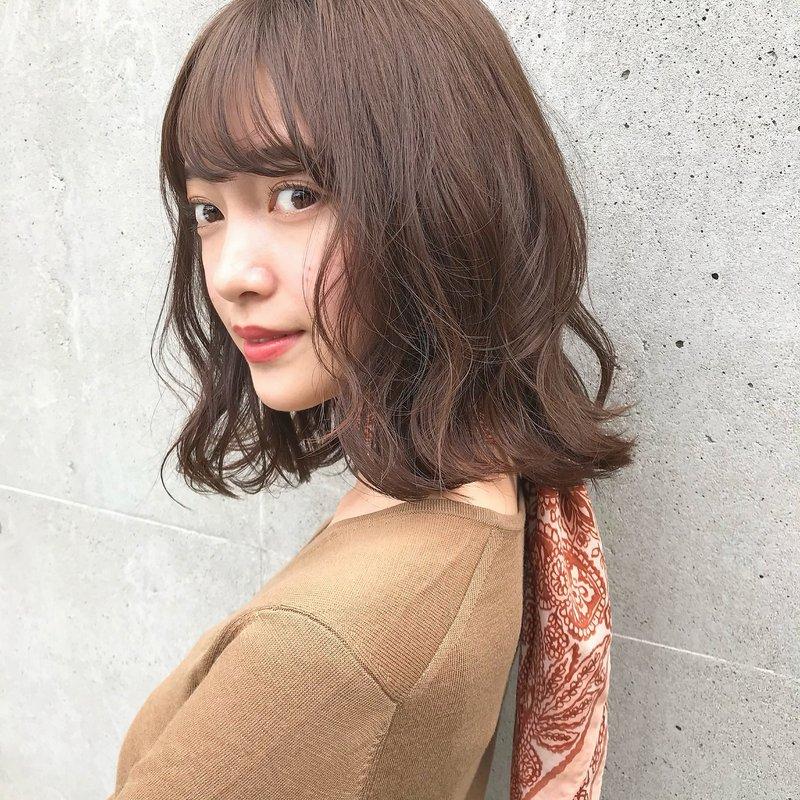 【GARDEN伊藤愛子】ゆるふわブランジュボブ