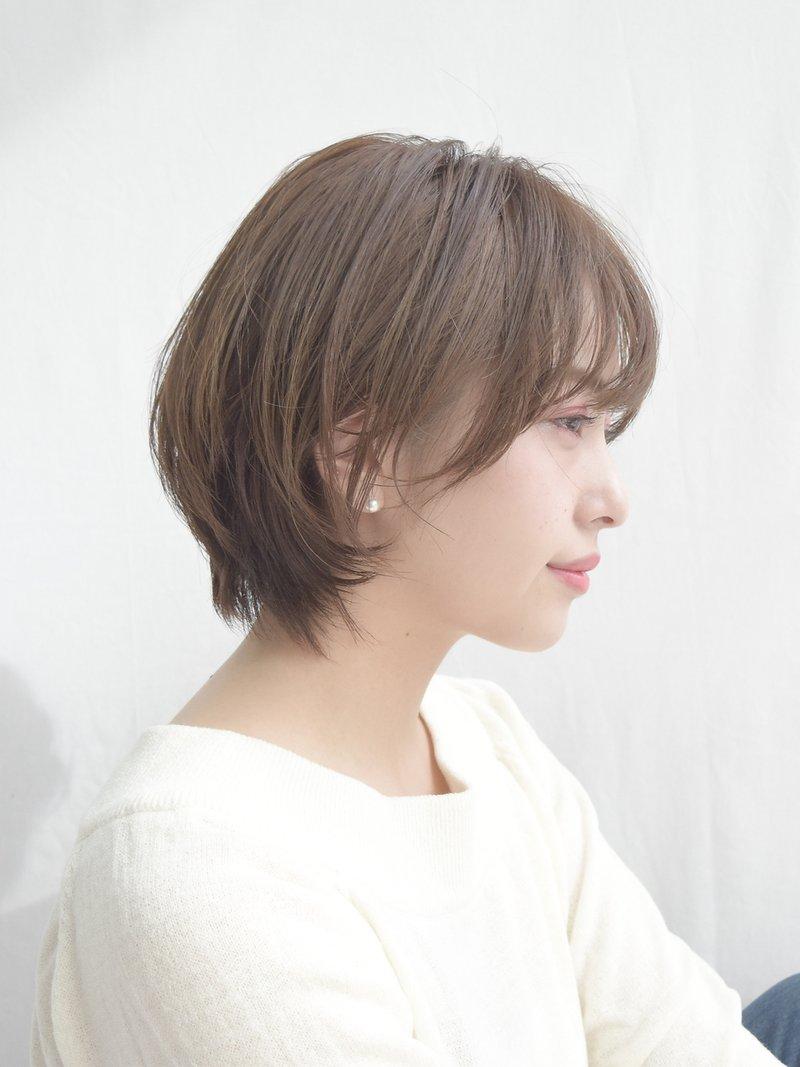 大人かわいいショートヘア/マニッシュ#美髪#フレンチボブ