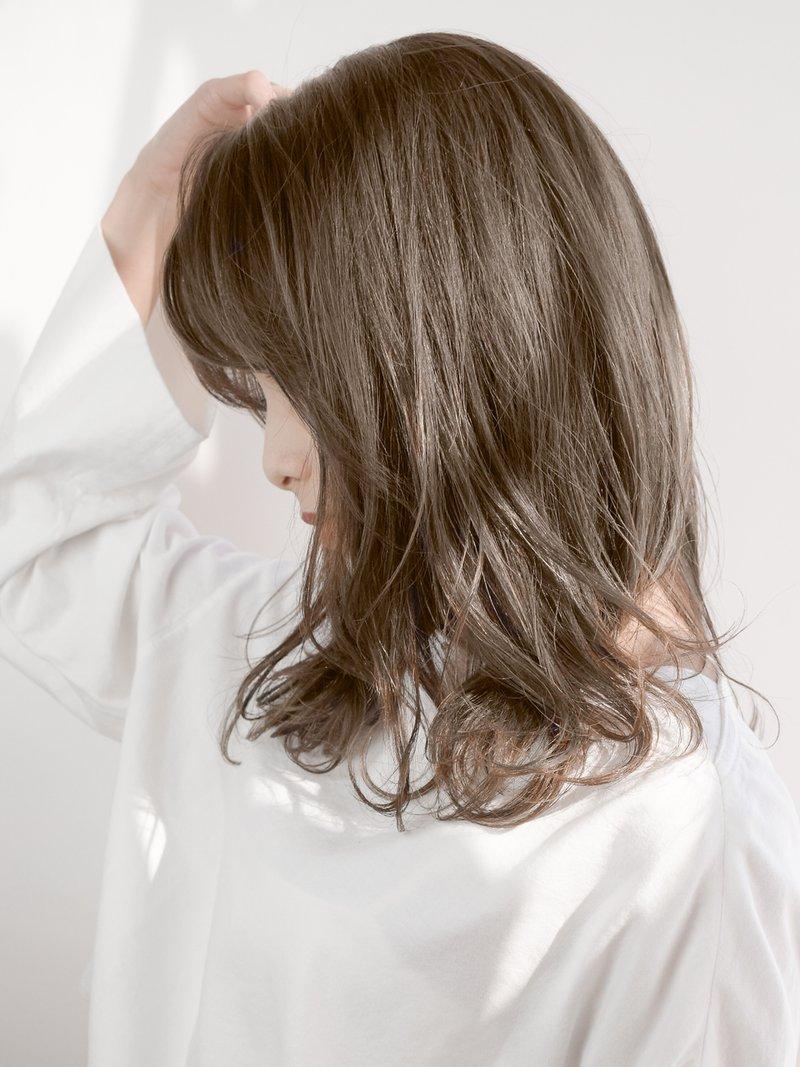 カーキグレージュ#デザインカラー#ブランジュ#美髪