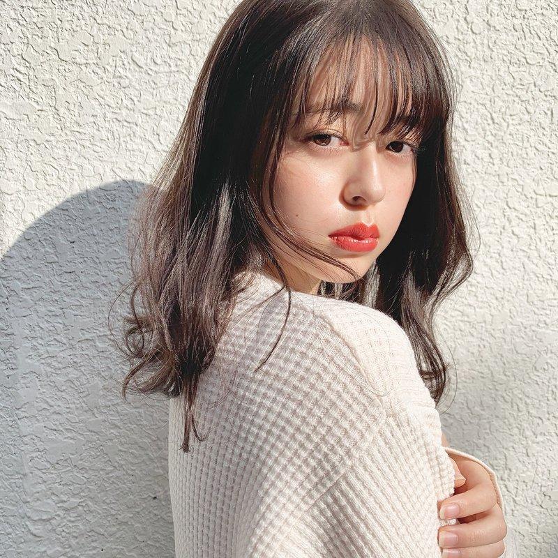 【GARDEN伊藤愛子】ラベンダーグレージュミディアム