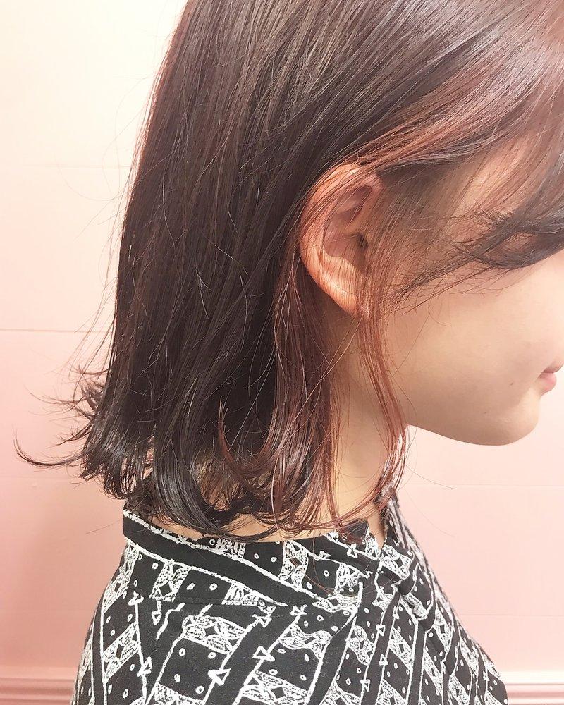 【OPERA 門屋】インナーカラー×ベビーピンクカラー