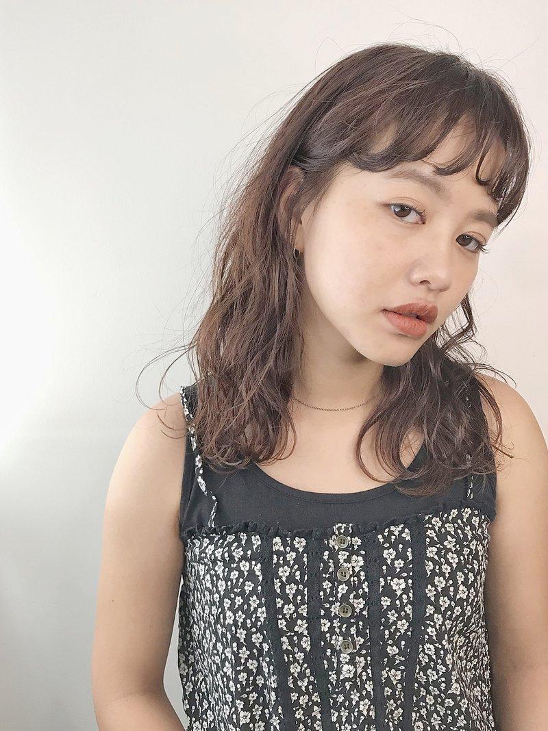 【pledica】前髪ワンカールミディアム【表参道】