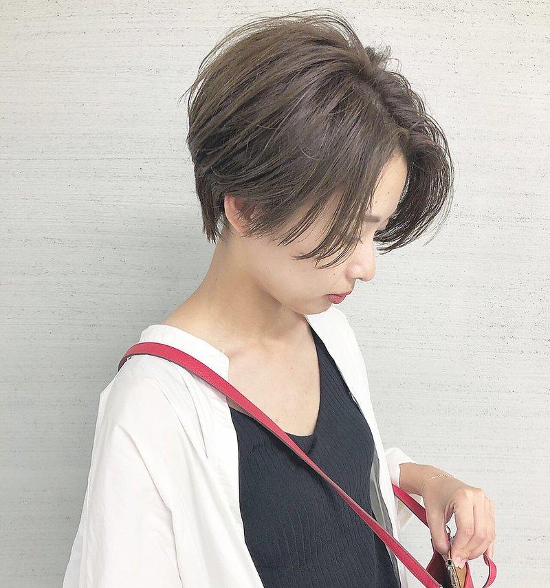 【Blanc-難波】ハンサムショート/大人かわいい/トランクスヘア