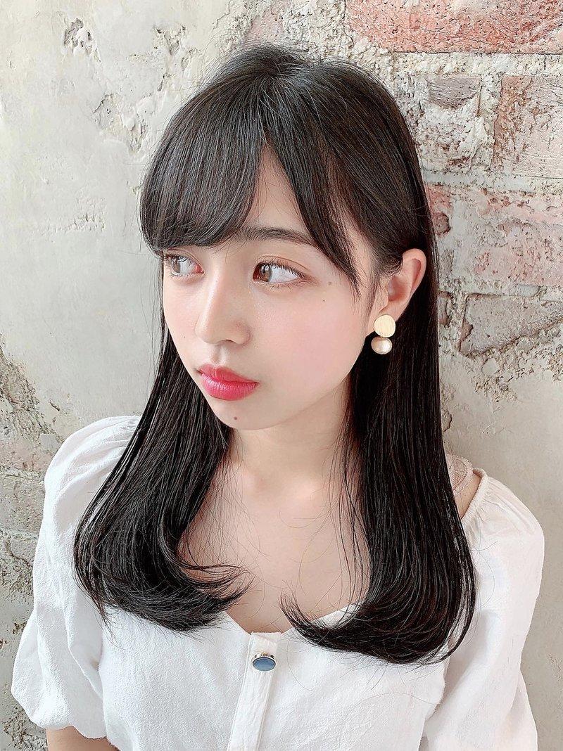 アフロート新宿【大沢 かおり】黒髪ロング美髪ヘア20代30代40代