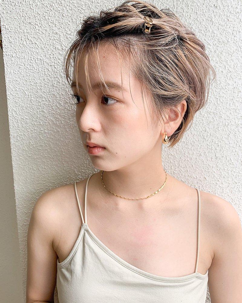 【ハイトーンショートアレンジ】
