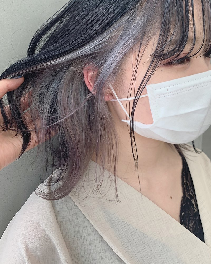 *【SUN】コントラスト強く!インナーホワイトカラー 蜂谷咲季