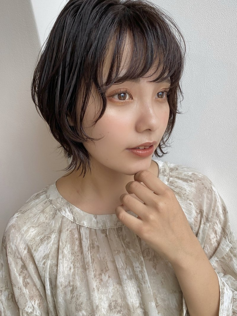 ひし型ショートボブ:鈴木美樹《京橋 パーソンカラー診断》