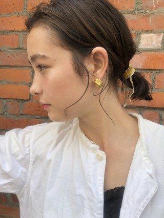 【NERO】原 *ニュアンスbobの簡単・紐アレンジヘア*