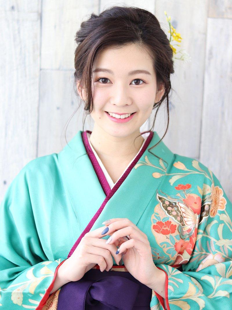 【albero】卒業式袴×和装美人ヘアアレンジ