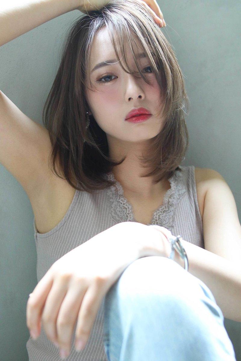 【Blanc/広島】ベージュカラー/レイヤーボブ/ボブディ 2