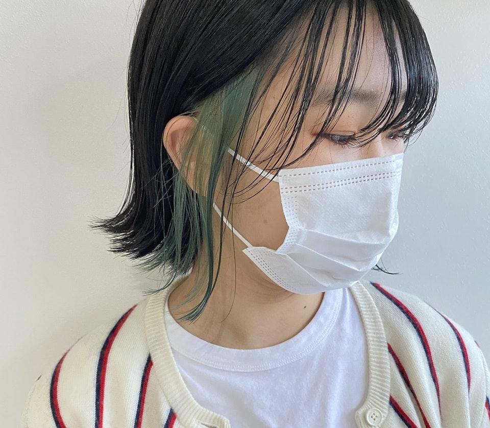 マスク姿が一気に垢抜け♡おしゃ見えする髪型のポイントは?レングス別おすすめスタイル集のサムネイル画像