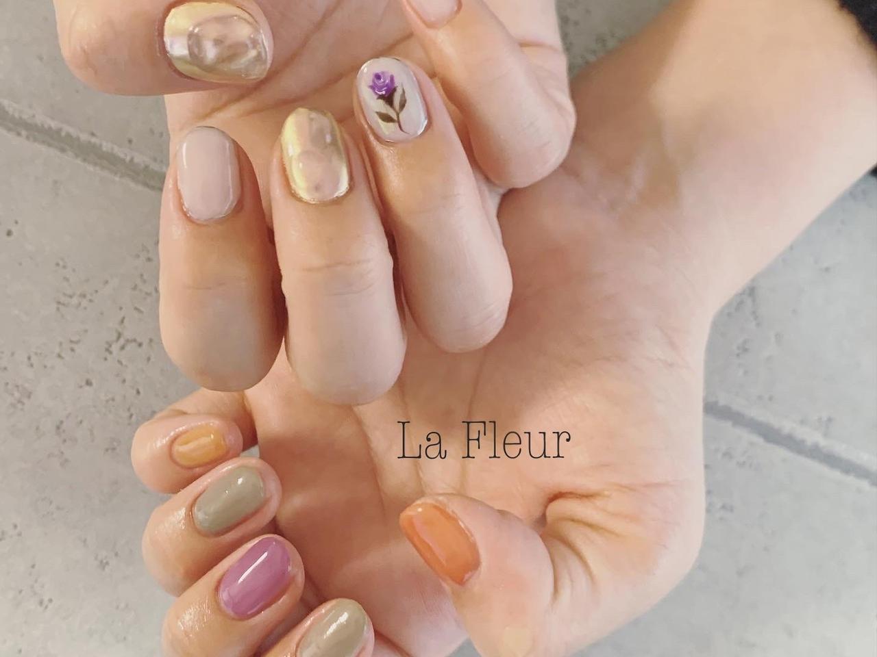 order nail◆nailsalon La Fleur