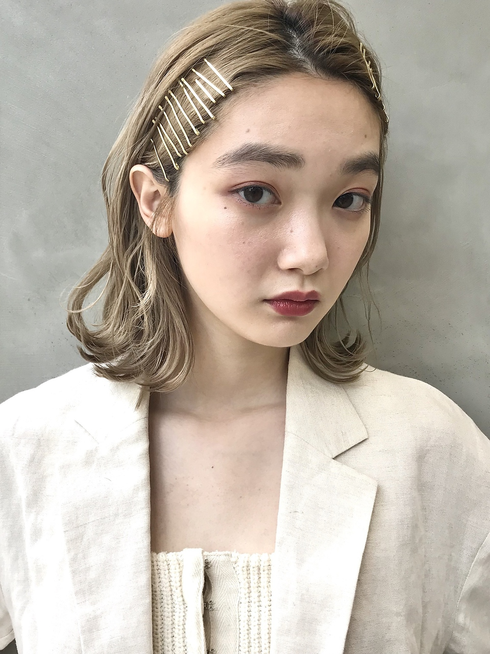 【SUN】ザクザクゴールドピンアレンジ 蜂谷咲季