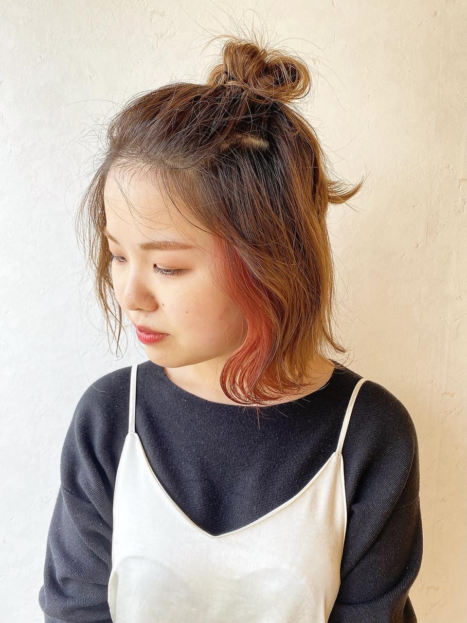 ハーフアップstyle/MARINA2