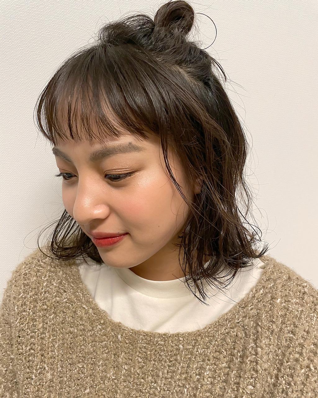 【ハーフアップお団子アレンジ】簡単な作り方&おすすめスタイル