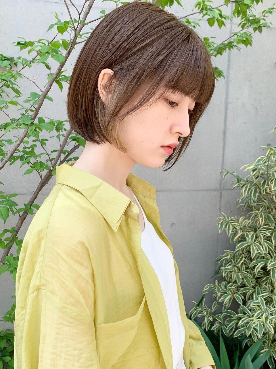 【2021年】夏の爽やかボブヘア特集!スッキリ涼しげなスタイルにチェンジのサムネイル画像
