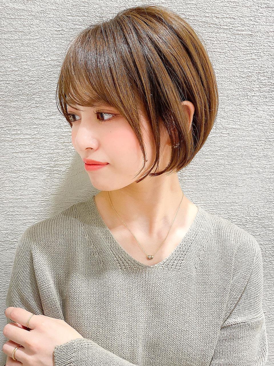 【谷 賢二】20代30代40代◎前髪イメチェン前下がり丸みショート