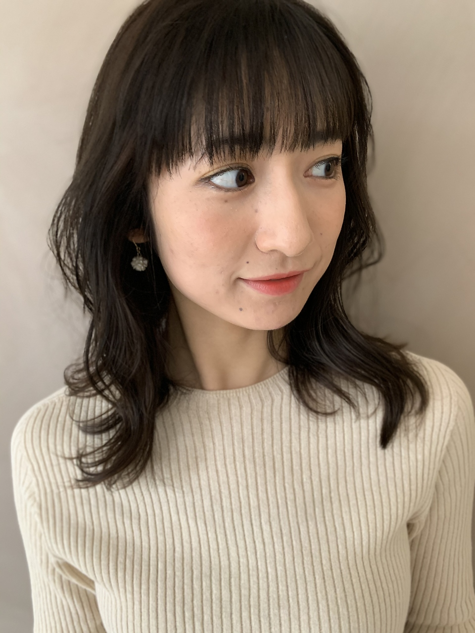 韓国風/くびれミディ/ヨシンモリ/イルミナカラー/渋谷