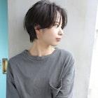 天神【BIRTH】前髪長めのイメチェンショート