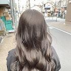 ほうじ茶ラテ×ブリーチなしWカラー×髪質改善トリートメント