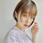 <ドバシケイタ>小顔効果『大』のギリギリバングボブ*