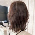 福山市パーマ人気キャアリーふんわりラベンダーグレージュ^^