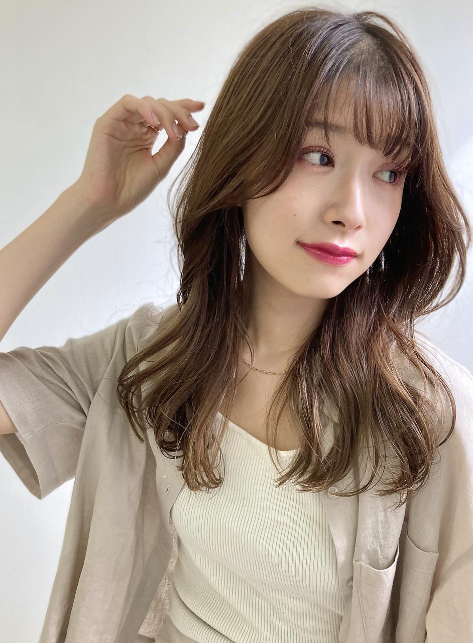 【LIBRE恵比寿】くびれミディアムで大人女性の抜け感スタイル☆